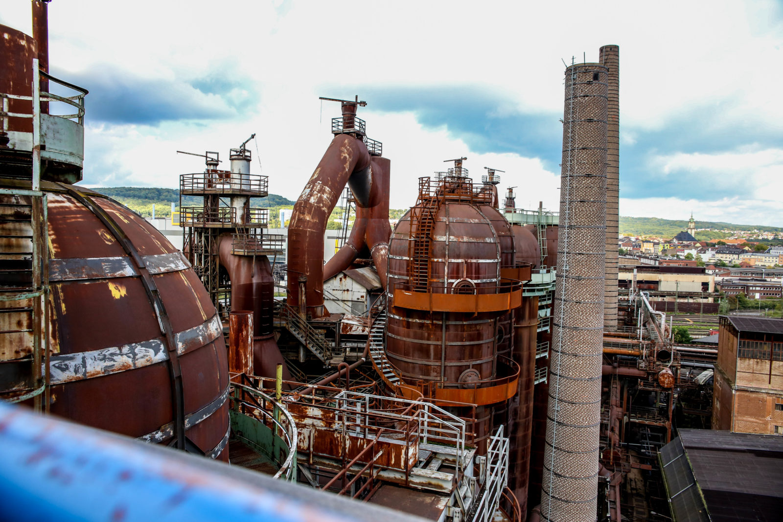 urbex explorationurbaine Volklingen usine abandonnee RADAR FrancsColleurs video tournage IMG9620 - Exploration en réalité augmentée de l'usine de Völklingen et des gouttes Francs Colleurs