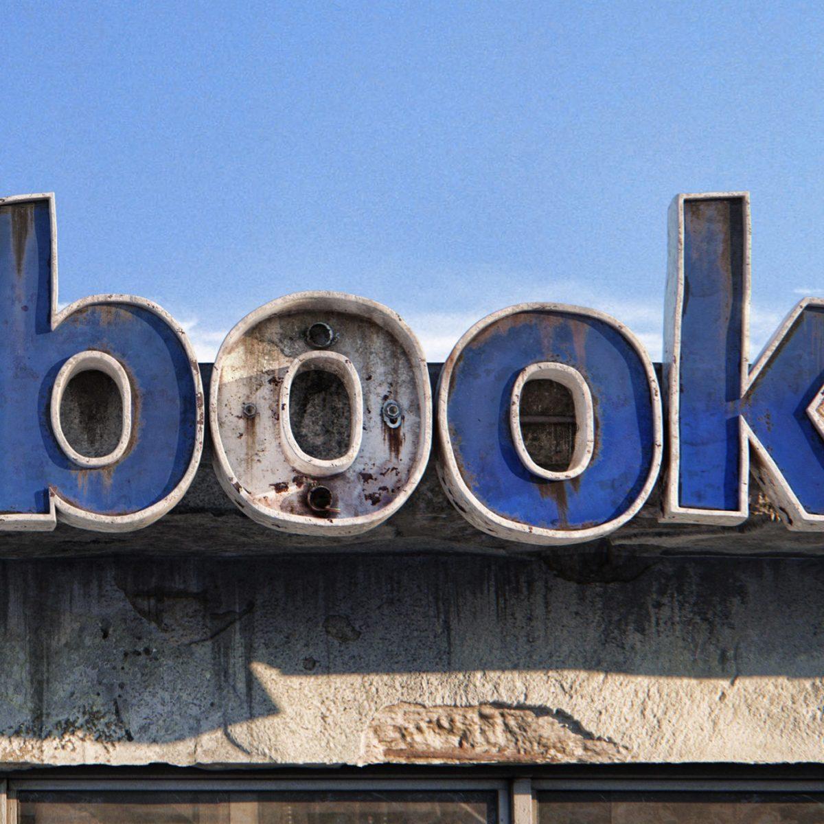 AndreiLacatusu social decay lettres logo enseigne typographie urbain urbex book - Social decay : les logos de Twitter, Facebook et Tinder transformés en enseignes vintage