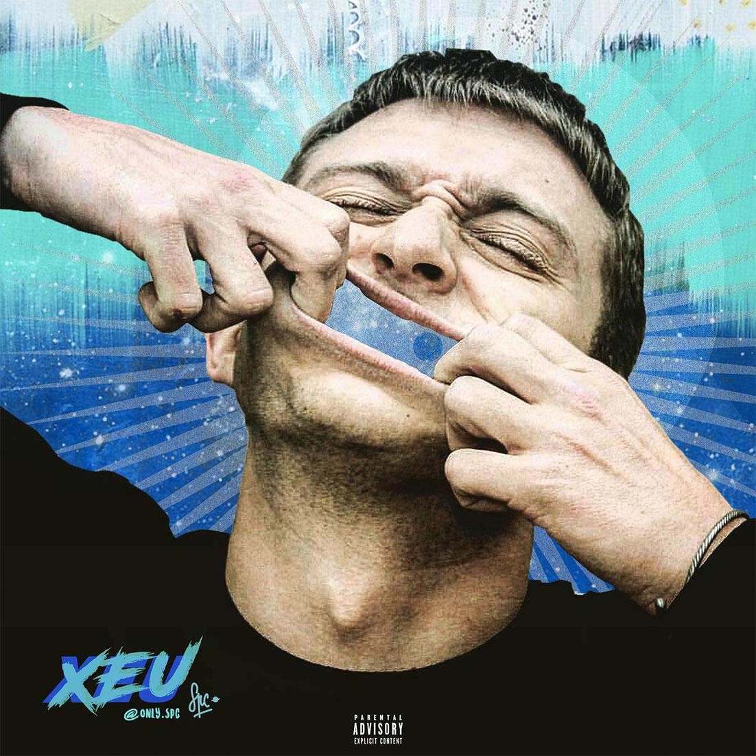 """Vald cover fans rap creation musique xeu portrait - Les meilleures pochettes réalisées pour """"XEU"""", le nouvel album de Vald"""