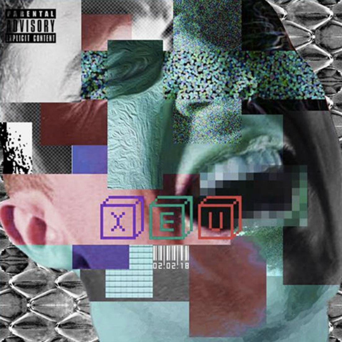 """Vald cover fans rap creation musique xeu visage cri - Les meilleures pochettes réalisées pour """"XEU"""", le nouvel album de Vald"""