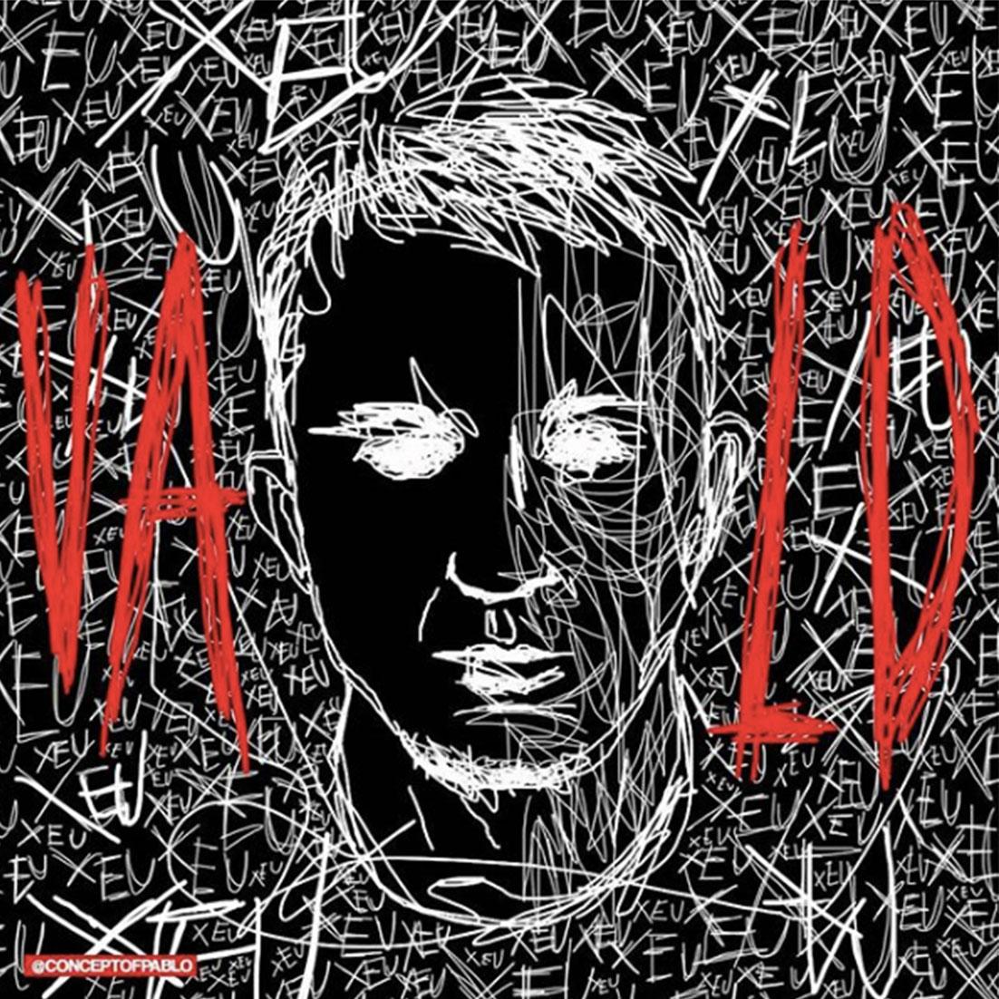 """Vald cover fans rap creation musique xeu - Les meilleures pochettes réalisées pour """"XEU"""", le nouvel album de Vald"""