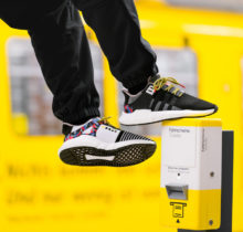 Adidas lance une paire de sneakers avec forfait de métro intégré