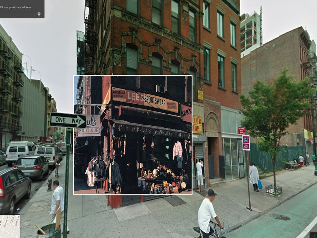 beastie boys cover pochette vinyle street view google radar urban - Les covers des plus grands albums hip-hop prennent vie dans Googe Street view