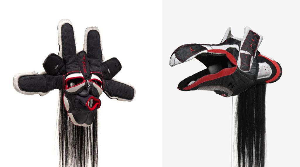 Brian Jungen fait de vos sneakers préférées des masques traditionnels