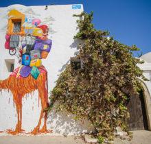 Sur l'île de Djerba, un petit village tunisien porte haut les couleurs du street art