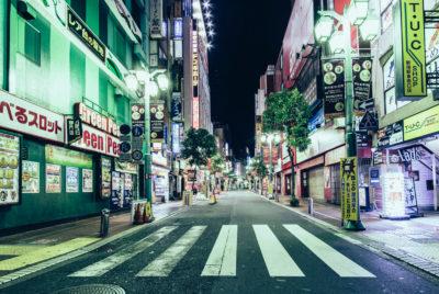 """genaro bardy tokyo japon desert photo 400x268 - """"Desert in the city"""" : Genaro Bardy photographie Tokyo vidée de ses habitants"""