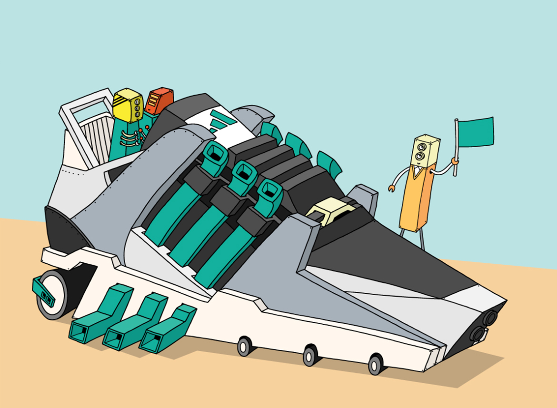 ghica popa illustration adidas sneakers basket dessin art 1 - L'illustrateur Ghica Popa transforme des sneakers en vaisseaux spatiaux