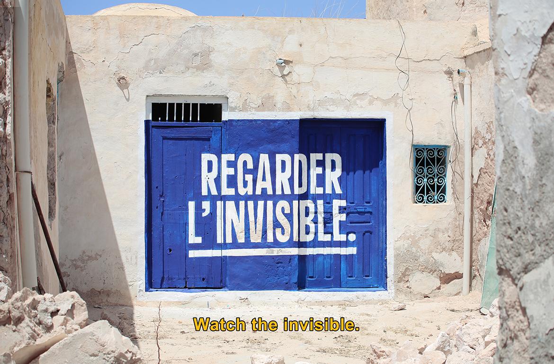 sean hart djerbahood tunisie street art galerie village fresque texte - Sur l'île de Djerba, un petit village tunisien porte haut les couleurs du street art