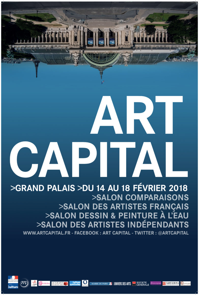 affiche art capital street art - Le street art s'invite au Grand Palais le temps du salon Art Capital