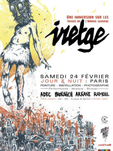 affiche iredge exposition paris art 232x309 - IRETGE, #EXPO