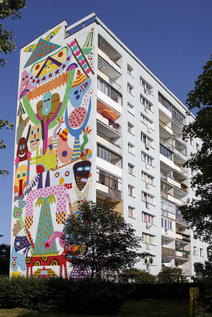 gotowe gdansk street art pologne - La plus grande galerie de street art à ciel ouvert est en Pologne !