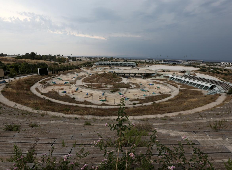 jeux olympiques stade abandonne athenes - Berlin, Sarajevo, Athènes : les sites des Jeux Olympiques version urbex
