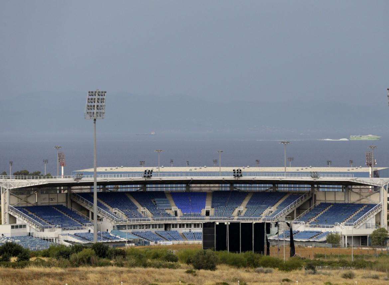 jeux olympiques stade urbex athenes - Berlin, Sarajevo, Athènes : les sites des Jeux Olympiques version urbex