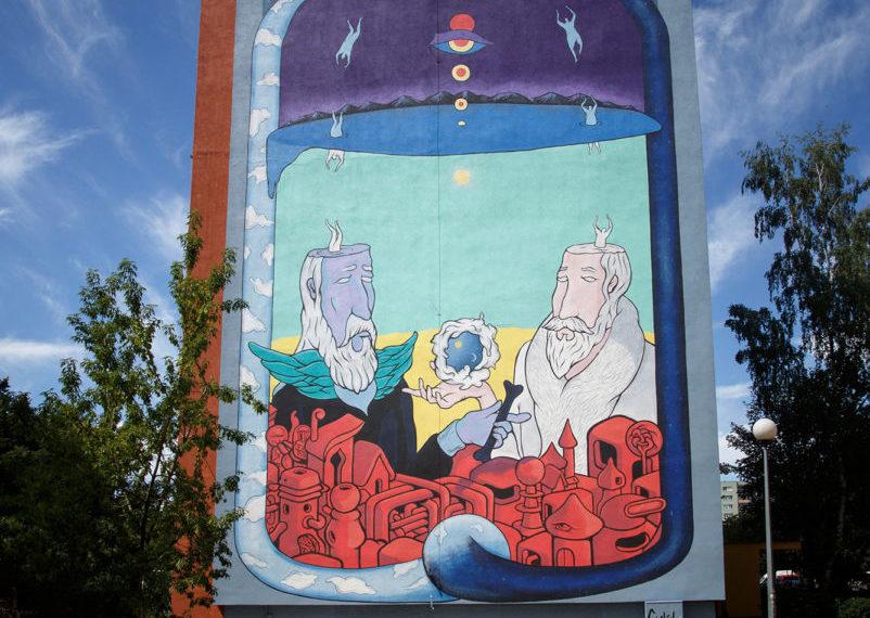 La plus grande galerie de street art à ciel ouvert est en Pologne !