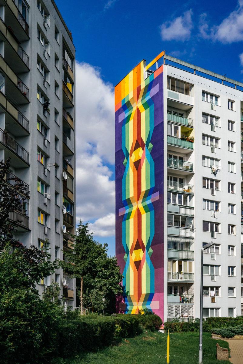 petroni street art gdansk pologne - La plus grande galerie de street art à ciel ouvert est en Pologne !