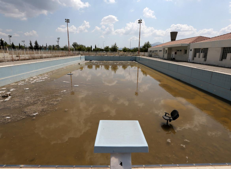 piscine abandonnee urbex jeux olympiques - Berlin, Sarajevo, Athènes : les sites des Jeux Olympiques version urbex