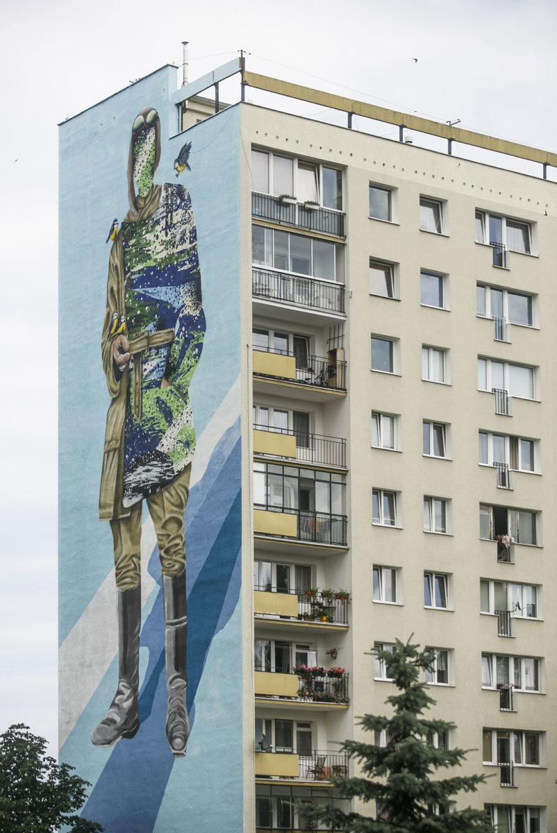 pologne gdansk street art urbain - La plus grande galerie de street art à ciel ouvert est en Pologne !