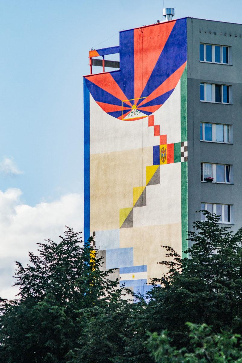 pomar street art gdansk pologne - La plus grande galerie de street art à ciel ouvert est en Pologne !