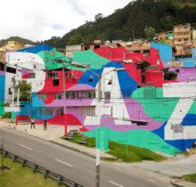 Le street artiste Seb Toussaint colore les quartiers défavorisés aux quatre coins du monde