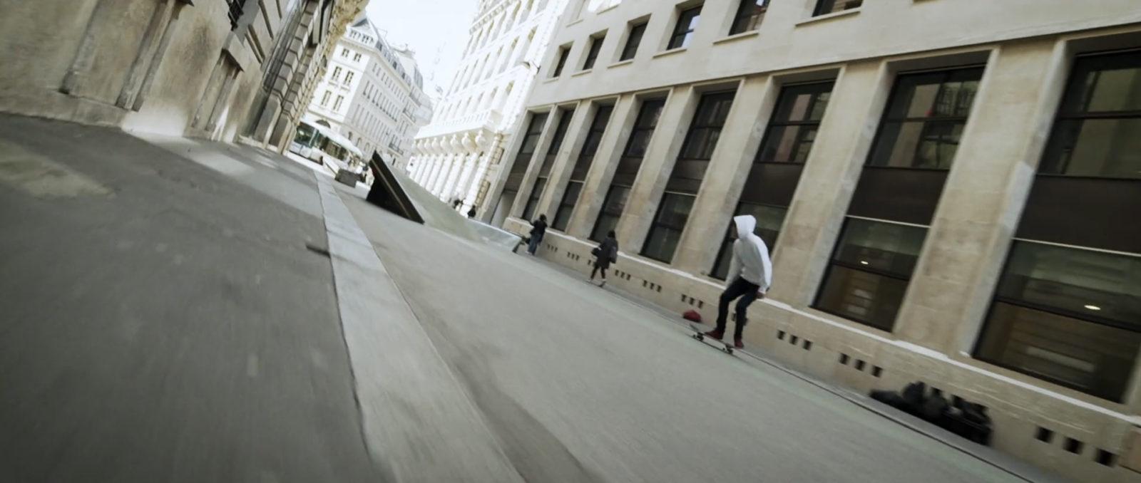 """skateur film unwordable antoine plainfosse - """"Unwordable"""", un film de skate qui explore Paris et sublime son architecture"""