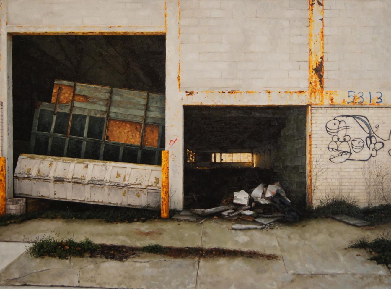 stephanie buer peinture urbex detroit - L'artiste Stéphanie Buer peint des lieux abandonnés avec un réalisme stupéfiant