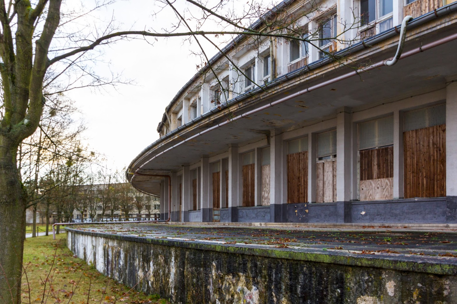 urbex berlin 1936 abandon village - Berlin, Sarajevo, Athènes : les sites des Jeux Olympiques version urbex