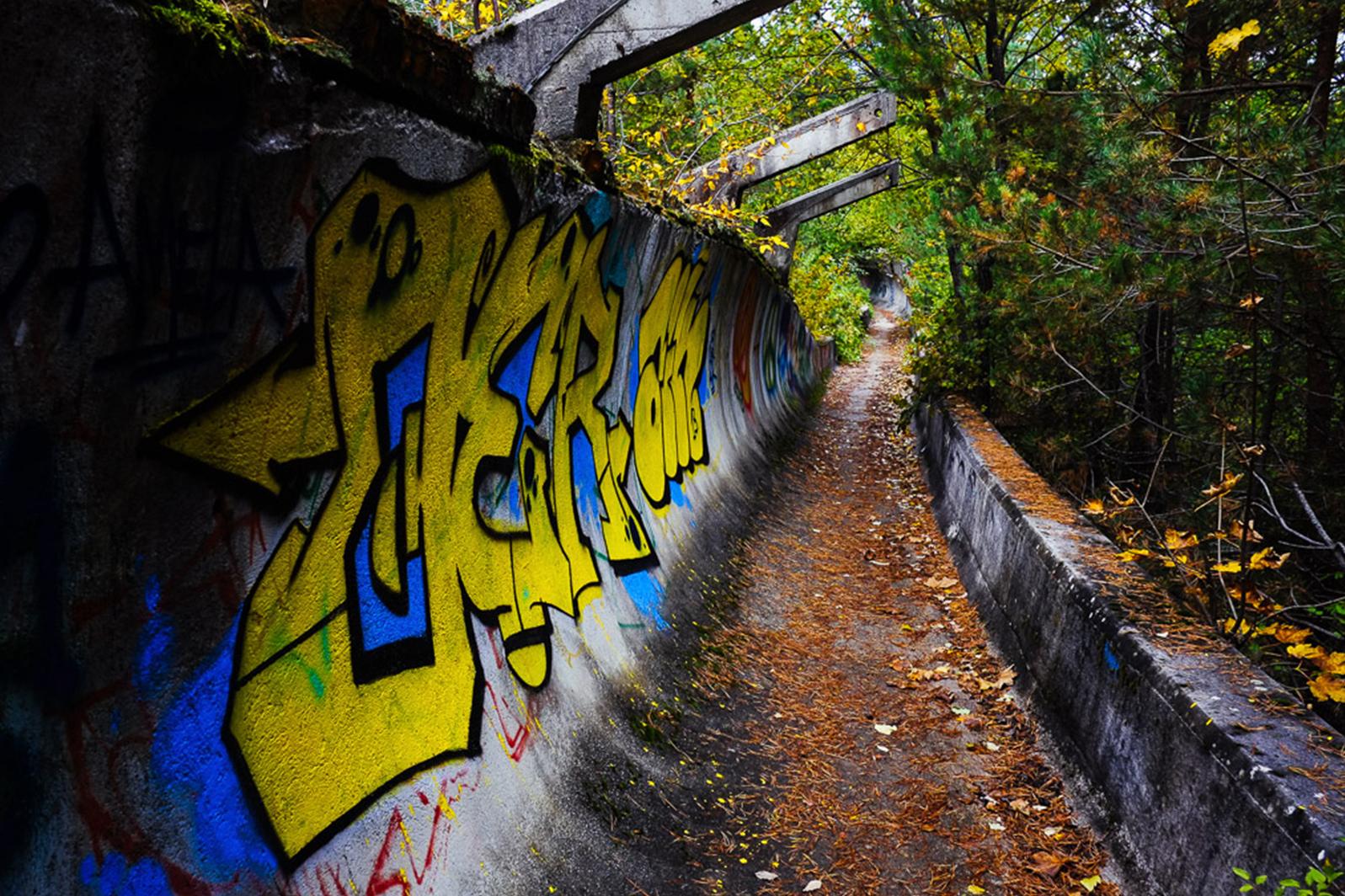 urbex sarajevo jo bobsleigh piste - Berlin, Sarajevo, Athènes : les sites des Jeux Olympiques version urbex