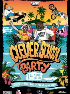 Clever school party avril paris 232x309 - CLEVER SCHOOL, #PARTY