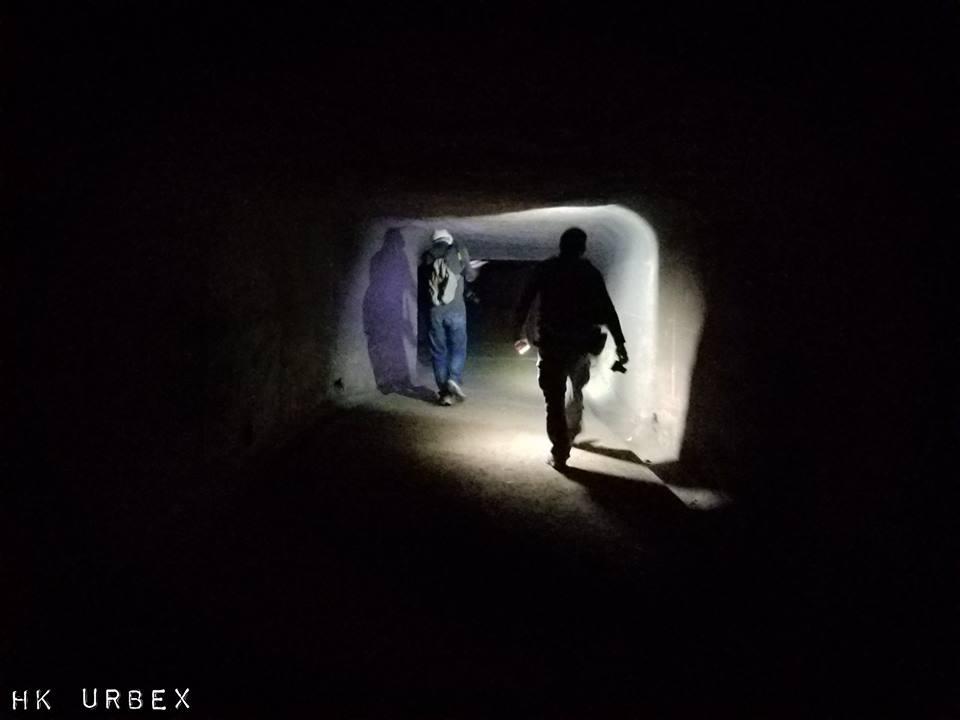 HK Urbex collectif guerre tunnels - Le collectif HK Urbex immortalise les lieux oubliés de Hong-Kong