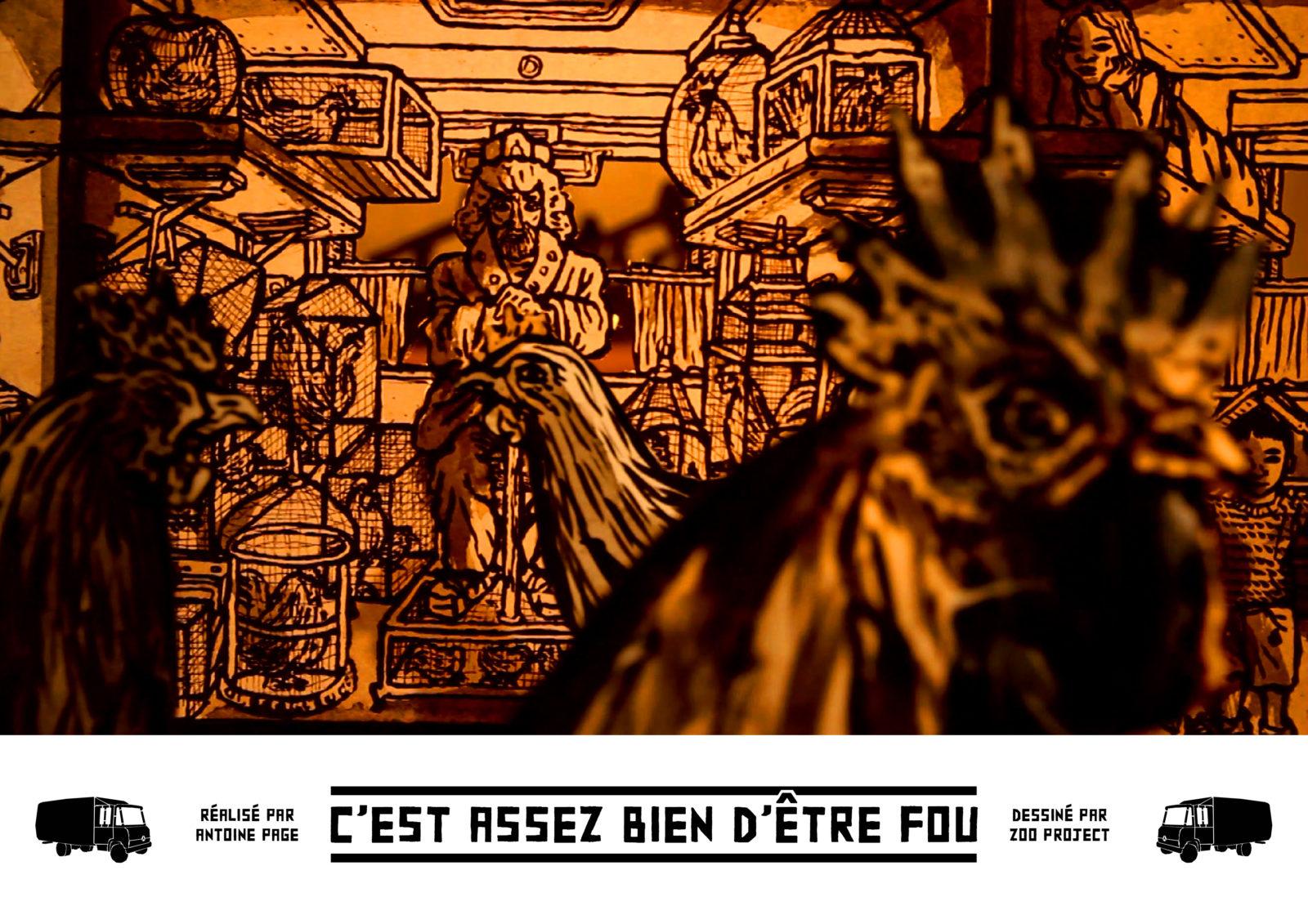 antoine page zoo project hommage documentaire - Le documentaire-hommage au street artiste Zoo Project enfin au cinéma