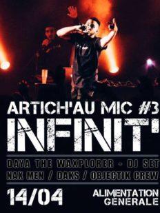 artich au mic party agenda 232x309 - L'Artich' au Mic, #PARTY