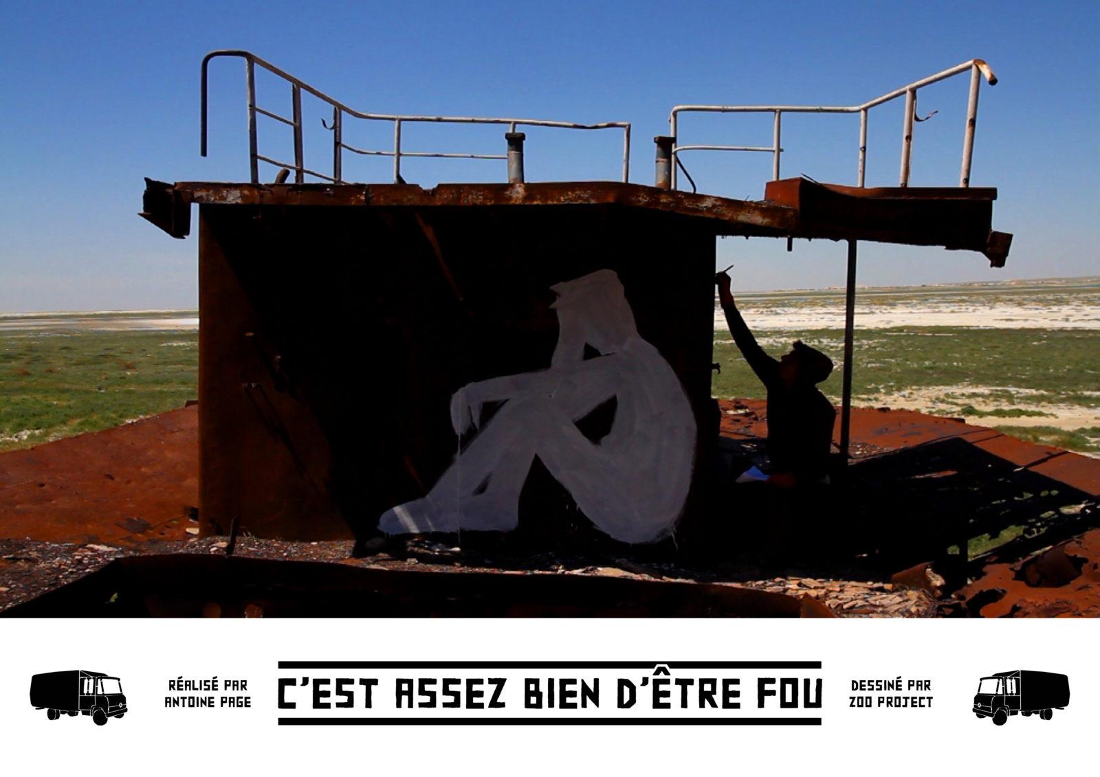 documentaire antoine page zoo project - Le documentaire-hommage au street artiste Zoo Project enfin au cinéma