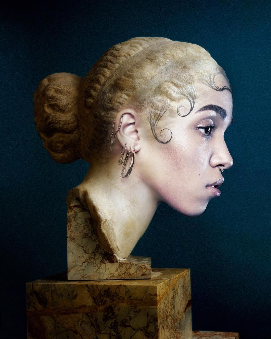 fkatwigssculpture slimesunday - Focus sur les effets digitaux et les larmes fluos de Slime Sunday
