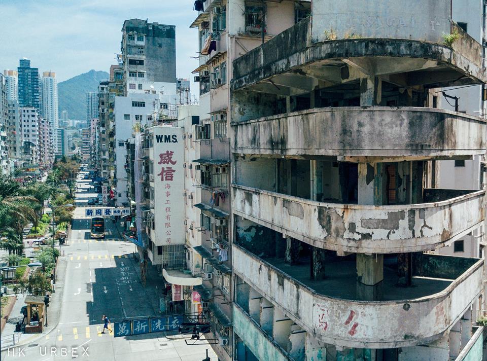 kowloon hk urbex exploration batiment - Le collectif HK Urbex immortalise les lieux oubliés de Hong-Kong