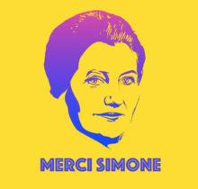 Merci Simone, le collectif qui affiche Simone Veil sur les murs de la ville