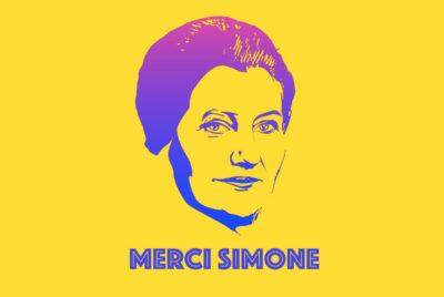 merci simone cover street art 400x268 - Merci Simone, le collectif qui affiche Simone Veil sur les murs de la ville