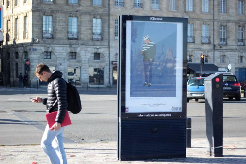 oboem JCdecaux bordeaux affichage pub art passant - Coup de pouce RADAR x Ulule : Ôboem veut transformer l'affichage publicitaire en galerie d'art