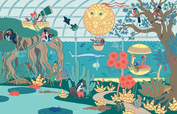 sarah loulendo oboem illustration ulule - Coup de pouce RADAR x Ulule : Ôboem veut transformer l'affichage publicitaire en galerie d'art