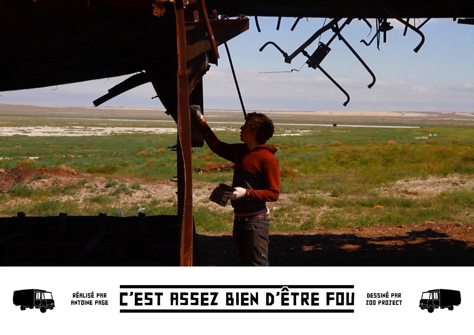 zoo project documentaire antoine page - Le documentaire-hommage au street artiste Zoo Project enfin au cinéma