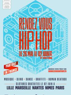 Affiche RDV HH 2 232x309 - Rendez-vous Hip-Hop, #FESTIVAL