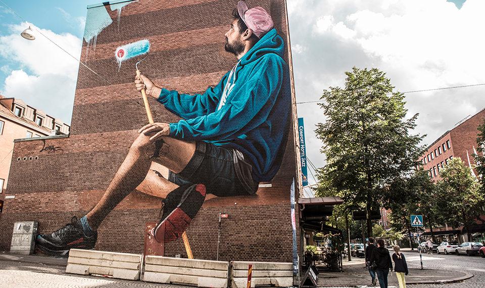 La ville suédoise Borås accueille le festival de street art «No Limit»