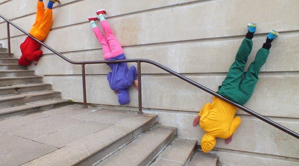 Le chorégraphe Willi Dorner imbrique des corps humains dans le paysage urbain