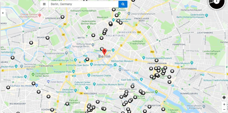 disquaires berlin recordstore carte interactive - Recordstores.love, la carte interactive des disquaires du monde entier
