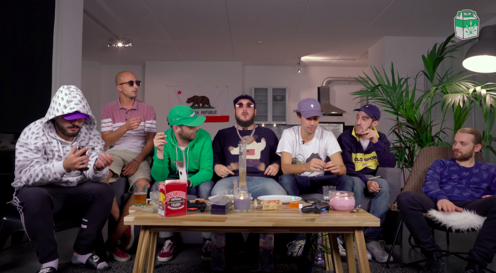 """high et fines herbes jeanjass caballero show - """"High et fines herbes"""" : quand le rap s'invite aux fourneaux"""