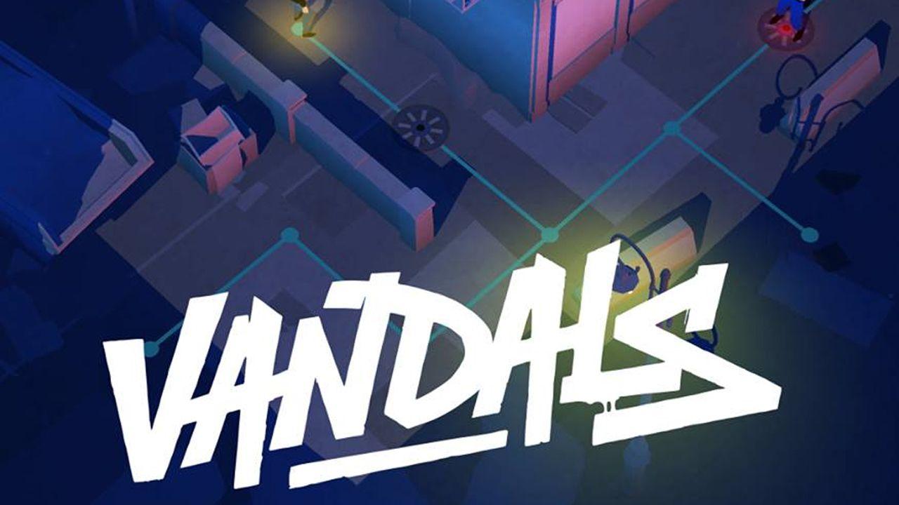 vandals titre jeu graffiti arte - Vandals, le jeu vidéo qui vous met dans la peau (et les ennuis) d'un graffeur