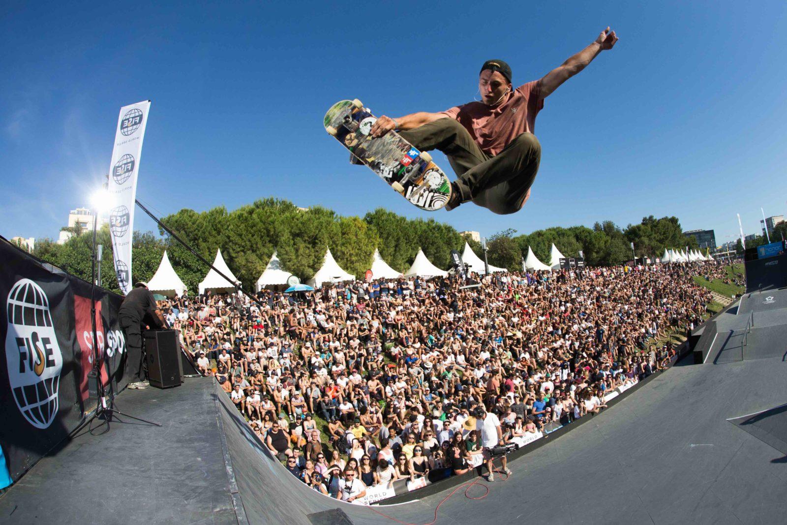 FISEMontpellier2017SkateboardStreet - Bmx, skate, wake... : rendez-vous au Fise pour supporter les meilleurs riders internationaux