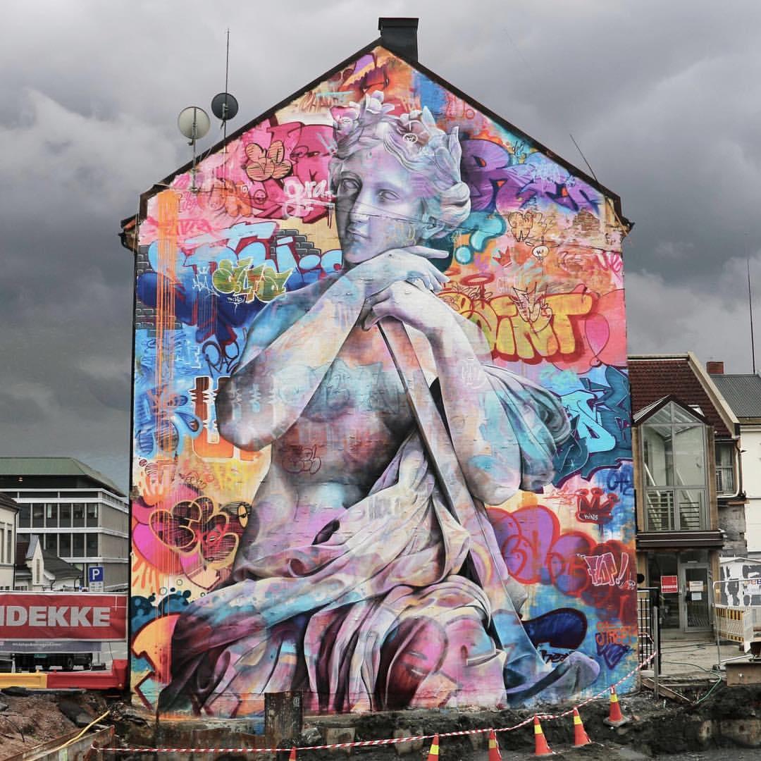 PichiAvo streetart arturbain graffiti mur - PichiAvo, le duo de graffeurs qui réussit à mixer beaux-arts et graffiti
