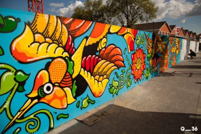 arturbain murales quai 36 Dalas1 1 400x268 - Quai 36 invite des street artistes à colorer halls de gare et palissades de chantiers