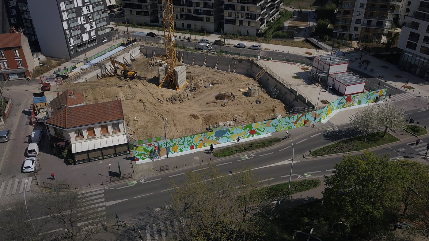 arturbain murales quai 36 Saddo 4 - Quai 36 invite des street artistes à colorer halls de gare et palissades de chantiers