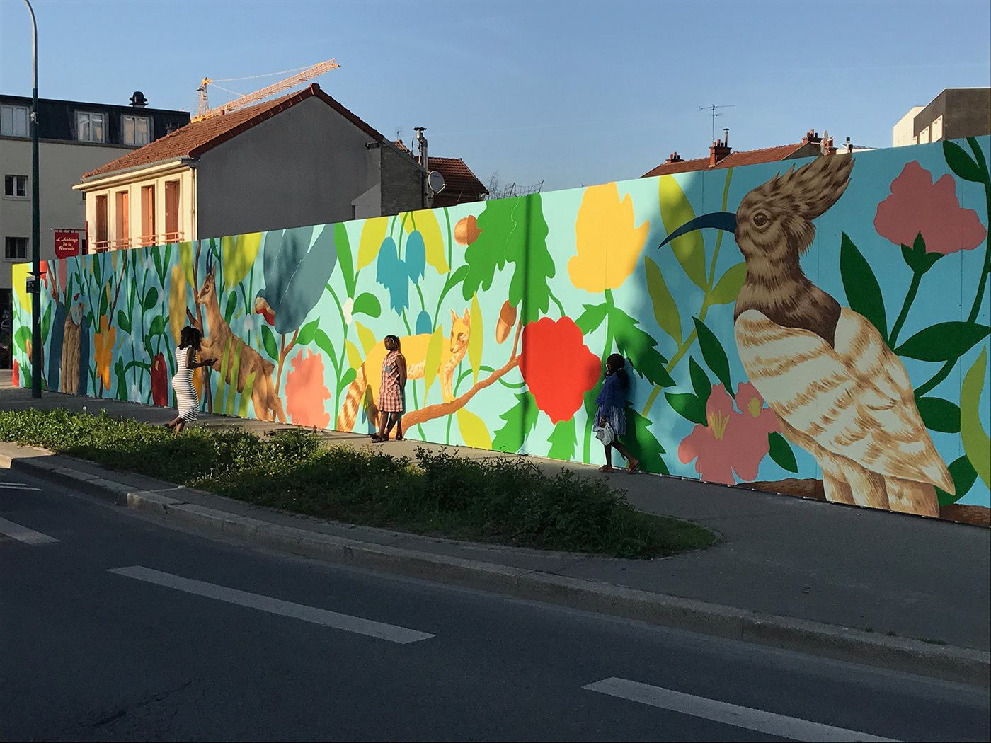 arturbain murales quai 36 Saddo 5 - Quai 36 invite des street artistes à colorer halls de gare et palissades de chantiers